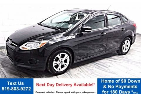 Pre-Owned 2013 Ford Focus SE SUNROOF! HEATED SEATS! SYNC! POWER PACKAGE! KEYLESS ENTRY! ALLOYS! FWD 4dr Car