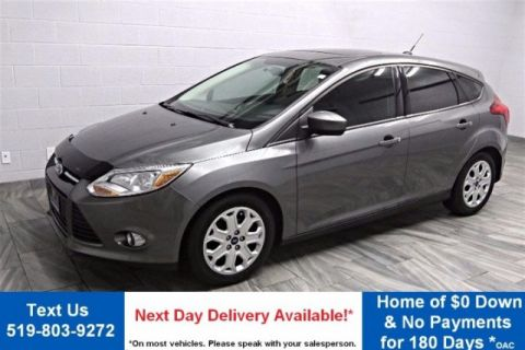 Certified Pre-Owned 2012 Ford Focus SE HATCHBACK SUNROOF! POWER PACKAGE! CRUISE CONTROL! KEYLESS ENTRY! FWD Hatchback