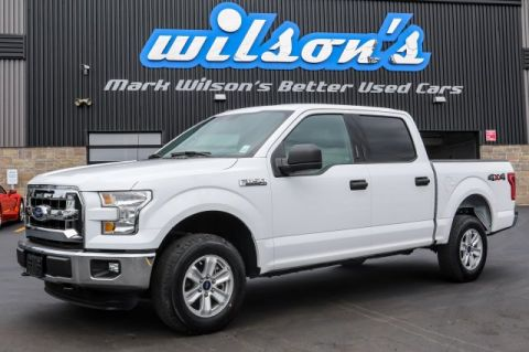 Certified Pre-Owned 2016 Ford F-150 XLT 4X4 5.0L V8 SHORT BOX! REAR CAMERA! TRAILER+TOW PACKAGE! $128/WK, 5.49% ZERO DOWN!