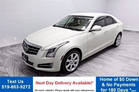 Certified Pre-Owned 2014 Cadillac ATS 3.6 PERFORMANCE AWD! NAVIGATION! REVERSE CAMERA! LEATHER! HEATED + POWER + MEMORY SEATS!