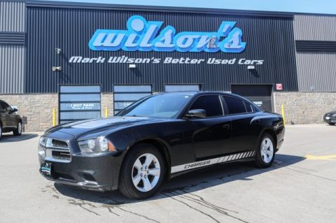 Certified Pre-Owned 2014 Dodge Charger SE V6 TOUCH SCREEN! POWER SEAT! CRUISE! KEYLESS! ALLOYS! RWD 4dr Car