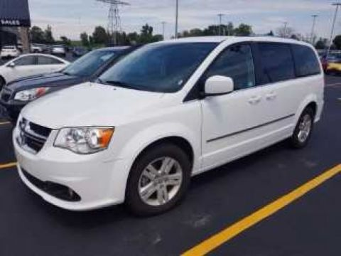 Certified Pre-Owned 2016 Dodge Grand Caravan CREW 7-PASSENGER! STOW N' GO! $62/WK, 5.49% ZERO DOWN! REAR A/C! 17'' ALLOYS! NEW BRAKES! FWD Mini-van, Passenger