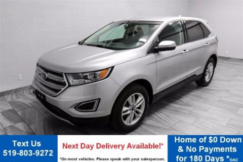 Certified Pre-Owned 2015 Ford Edge SEL AWD V6! LEATHER! CAMERA! HEATED/POWER SEATS! SYNC! ALLOYS!