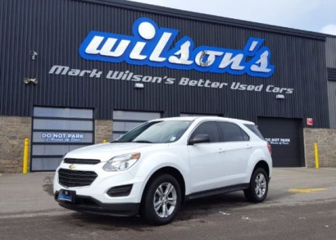 Certified Pre-Owned 2016 Chevrolet Equinox LS AWD! $72/WK, 5.49% ZERO DOWN! REAR CAMERA! ALLOYS! POWER PACKAGE! TOUCH SCREEN!