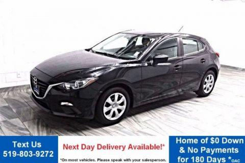 Pre-Owned 2014 Mazda3 GX-SKYACTIV! HATCHBACK! BLUETOOTH! REMOTE AUDIO! POWER PKG! KEYLESS ENTRY! FWD Hatchback