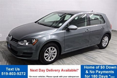 Pre-Owned 2016 Volkswagen Golf Trendline 1.8 TSI BLUETOOTH! REAR CAMERA! TOUCH-SCREEN! HEATED SEATS! CRUISE CONTROL! POWER PACKAGE FWD Hatchback