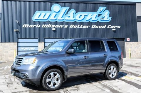"Certified Pre-Owned 2015 Honda Pilot LX $108/WK, 5.49% ZERO DOWN! 4WD 8-PASS! NEW TIRES! REAR CAMERA! 18"" ALLOYS! BLUETOOTH! REAR A/C!"