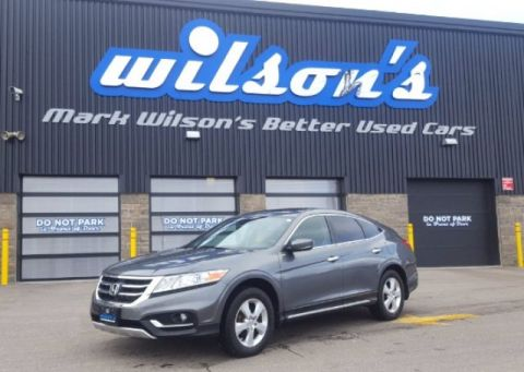 Certified Pre-Owned 2013 Honda Crosstour EX-L LEATHER! ROOF! CAMERA! HEATED SEATS! ALLOYS! BLUETOOTH! POWER PACKAGE! FWD Hatchback