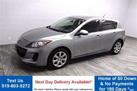 Certified Pre-Owned 2013 Mazda3 GX HATCHBACK! POWER PACKAGE! AIR! FWD Hatchback