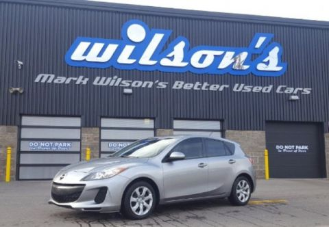Certified Pre-Owned 2013 Mazda3 GX HATCHBACK! NEW BRAKES! POWER PACKAGE! KEYLESS ENTRY! AIR! FWD Hatchback