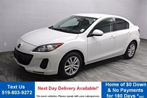 Certified Pre-Owned 2013 Mazda3 GX  ALLOYS! POWER PACKAGE! AIR CONDITIONING! FWD 4dr Car