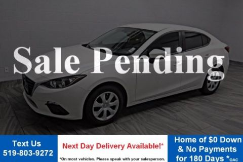 Certified Pre-Owned 2014 Mazda3 GX-SKYACTIV! BLUETOOTH! POWER PACKAGE! KEYLESS ENTRY! FWD 4dr Car