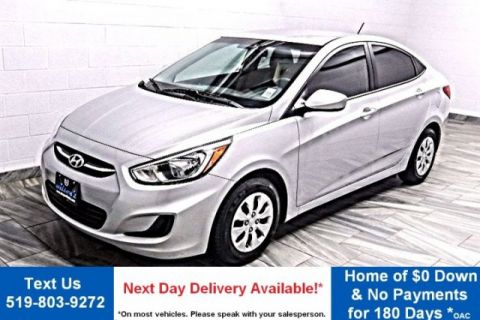 Pre-Owned 2016 Hyundai Accent HEATED SEATS! BLUETOOTH! POWER PACKAGE! STEERING WHEEL RADIO CONTROLS!  CRUISE! FWD 4dr Car
