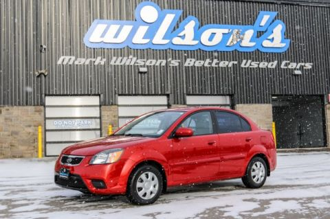 Pre-Owned 2011 Kia Rio LX $35/WK, 6.24% ZERO DOWN! HEATED SEATS! BLUETOOTH! POWER PACKAGE! FWD 4dr Car
