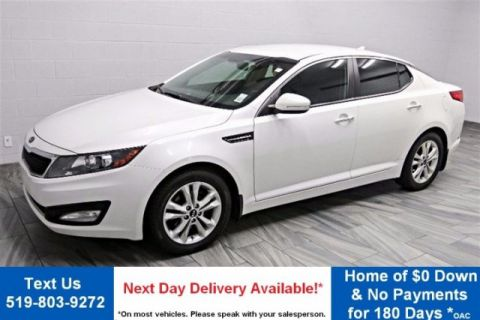 Certified Pre-Owned 2012 Kia Optima EX LEATHER! CAMERA! HEATED SEATS! ALLOYS! POWER PACKAGE! FWD 4dr Car