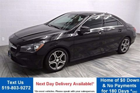 Certified Pre-Owned 2016 Mercedes-Benz CLA250 4MATIC PREMIUM PKG! NAVIGATION! SUNROOF! CAMERA! HEATED LEATHER SEATS!