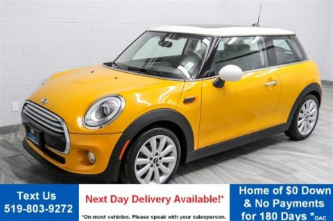 Certified Pre-Owned 2015 MINI Cooper Hardtop LEATHER! PANO ROOF! HEATED SEATS! KEYLESS ENTRY! ALLOYS! FWD Hatchback