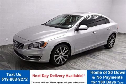Certified Pre-Owned 2015 Volvo S60 T6 PREMIUM PLUS! AWD! LEATHER! ROOF! CAMERA! HEATED SEATS! ALLOYS!