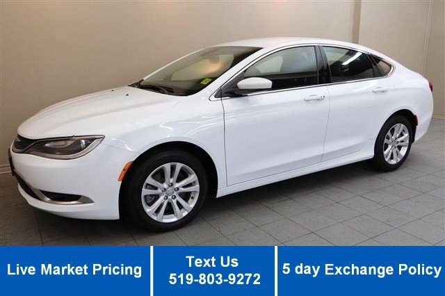 Certified Used Chrysler 200 V6 LIMITED! BLUETOOTH! HEATED SEATS! POWER PKG! CRUISE! ALLOYS!