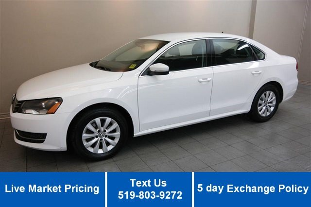 Certified Used Volkswagen Passat TRENDLINE TSI w/ HEATED SEATS! POWER PACKAGE! ALLOYS! CRUISE!