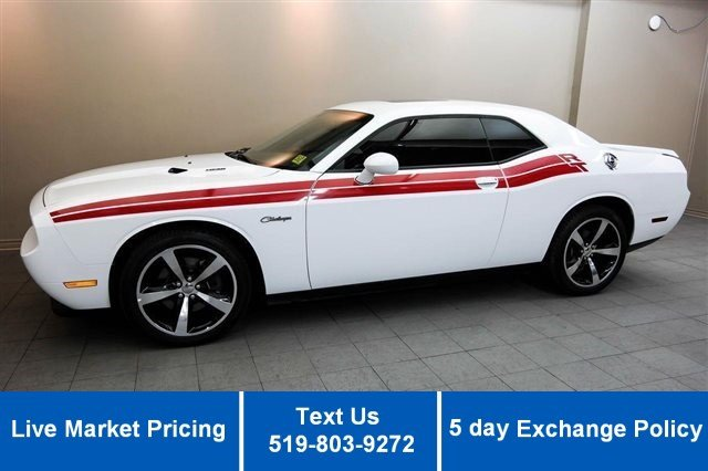 Certified Used Dodge Challenger R/T HEMI! LEATHER! SUNROOF! HEATED SEATS! ALLOYS!