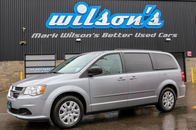Certified Pre-Owned 2016 Dodge Grand Caravan SXT 7-PASS! QUAD CAPTAIN CHAIRS! STOW'N'GO! REAR HEAT+A/C! $72/WK, 5.49% ZERO DOWN!