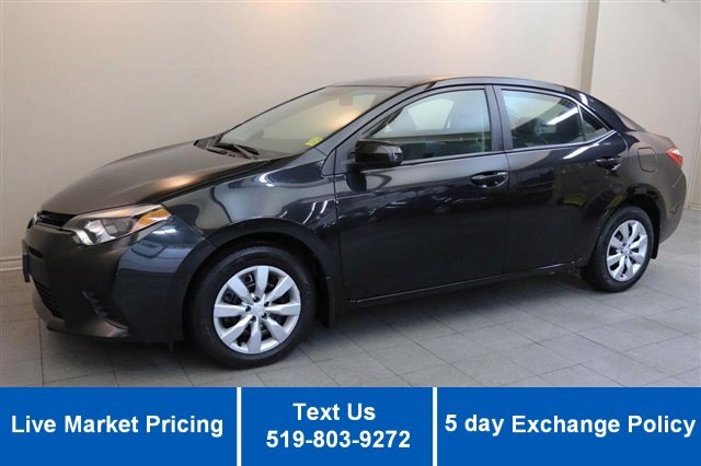 Certified Used Toyota Corolla LE w/ REVERSE CAMERA! HEATED SEATS! POWER PKG! CRUISE! KEYLESS!