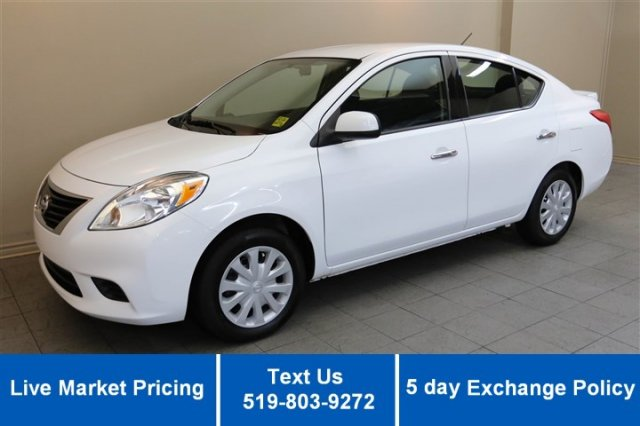 Certified Used Nissan Versa SV w/ 20,000KM! POWER PACKAGE! KEYLESS ENTRY! A/C!
