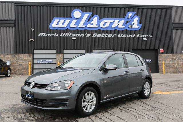 Certified Pre-Owned 2016 Volkswagen Golf TRENDLINE 1.8 TSI $61/WK, 5.49% ZERO DOWN! BLUETOOTH! REAR CAMERA! TOUCH-SCREEN! HEATED SEATS!