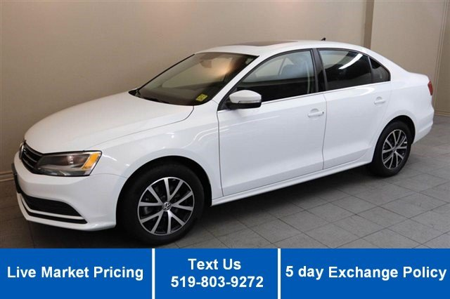 Certified Used Volkswagen Jetta Sedan 1.8 TSI COMFORTLINE! SUNROOF! REVERSE CAM! ALLOYS! HEATED SEATS!
