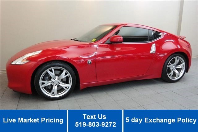 Certified Used Nissan 370Z SPORTS PACK! 6-SPEED! POWER PKG! 19'' ALLOYS!