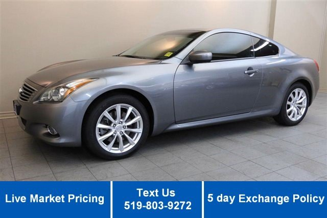 Certified Used Infiniti G37 Coupe AWD PREMIUM COUPE! LEATHER! ROOF! CAMERA! HEATED + POWER SEATS!