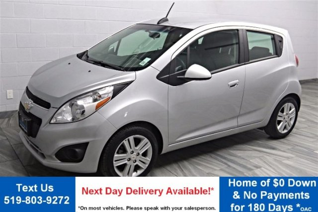 Pre-Owned 2015 Chevrolet Spark 'LT' HATCHBACK! BLUETOOTH! POWER PACKAGE! AIR CONDITIONING! CRUISE CONTROL! INFO CENTER!