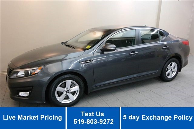 Certified Used Kia Optima LX w/ HEATED SEATS! BLUETOOTH! ALLOYS! POWER PACKAGE!