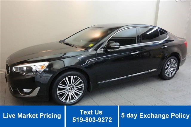 Certified Used Kia Cadenza V6 PREMIUM! NAVIGATION! HEATED LEATHER! CAMERA!
