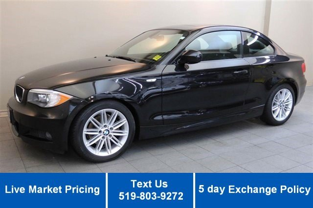 Certified Used BMW 128i M SPORT PKG! 6-SPD! PREMIUM PKG! ROOF! HEATED SEATS!