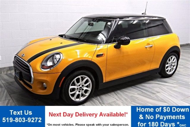 Certified Pre-Owned 2016 MINI Cooper LEATHER! HEATED SEATS! POWER PACKAGE! CRUISE CONTROL! ALLOYS!